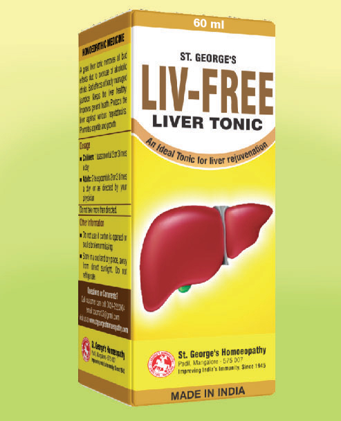 LIV FREE (Liver Tonic)-60ml