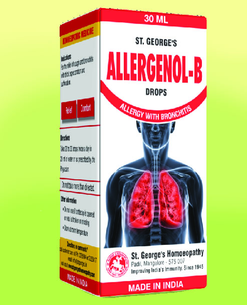 ALLERGENOL-B TAB ALLERGY WITH BRONCHITIS