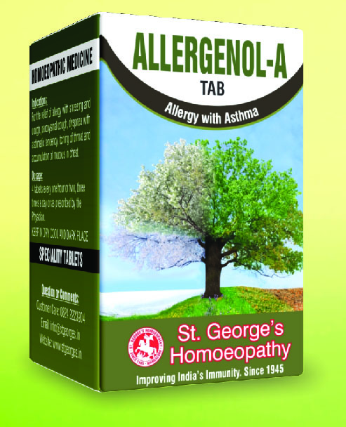 ALLERGENOL-A TAB ALLERGY WITH ASTHMA