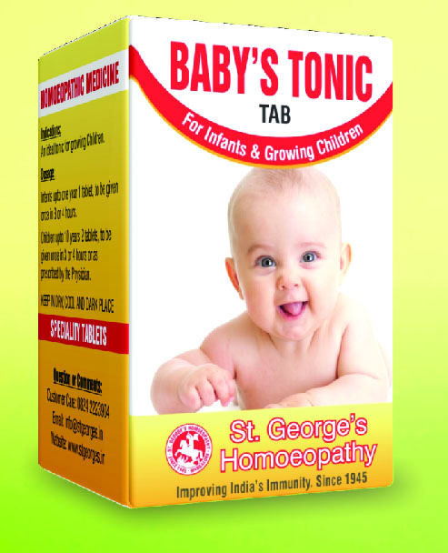 BABY'S TONIC TAB FOR INFANTS AND GROWING CHILDREN