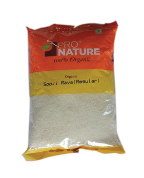 Pro Nature Organic-Sooji/ Rava (Regular)