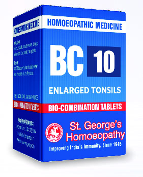 BC 10 ENLARGED TONSILS