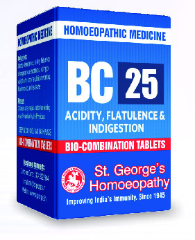BC 25 ACIDITY, FLATULENCE & INDIGESTION