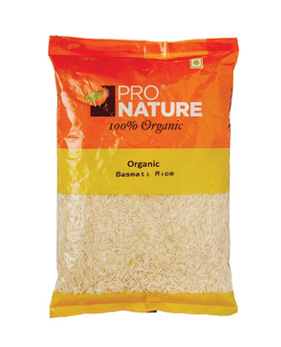 Pro  Nature  Organic -Basmati  Rice  -  White