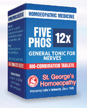 FIVE PHOS 12X GENERAL TONIC FOR NERVES