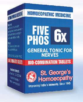 FIVE PHOS 6X GENERAL TONIC FOR NERVES