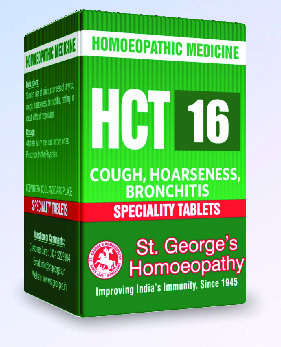 HCT 16 COUGH, HOARSENESS, BRONCHITIS