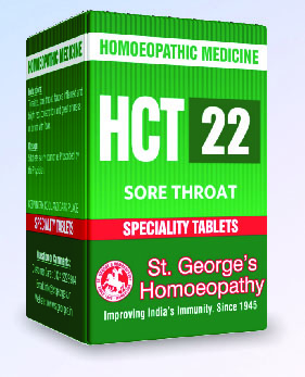 HCT 22 SORE THROAT