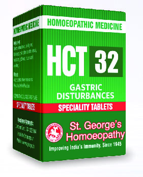 HCT 32 GASTRIC DISTURBANCES