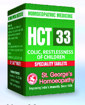 HCT 33 COLIC RESTLESSNESS OF CHILDREN