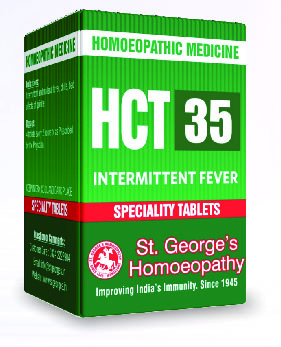 HCT 35 INTERMITTENT FEVER