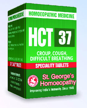 HCT 37 CROUP, COUGH, DIFFICULT BREATHING