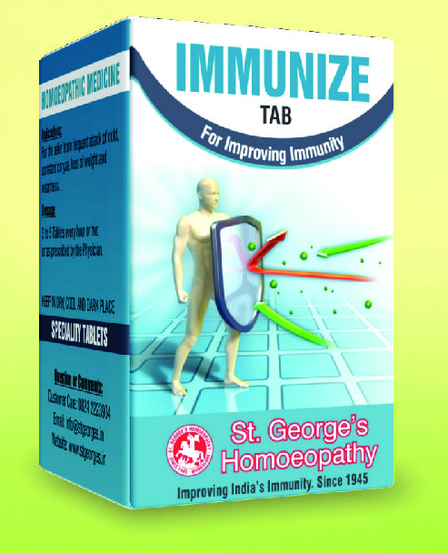 IMMUNIZE TAB FOR IMPROVING IMMUNITY
