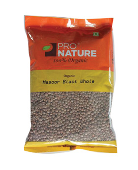 Pro Nature Organic-Masoor Black Whole