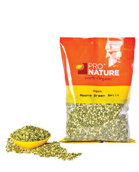 Pro Nature Organic-Moong Dal Green Split
