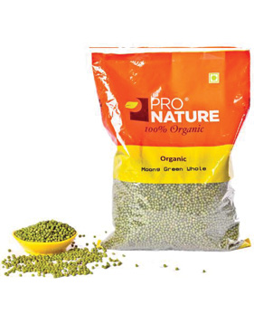 Pro Nature Organic-Moong Dal Green Whole