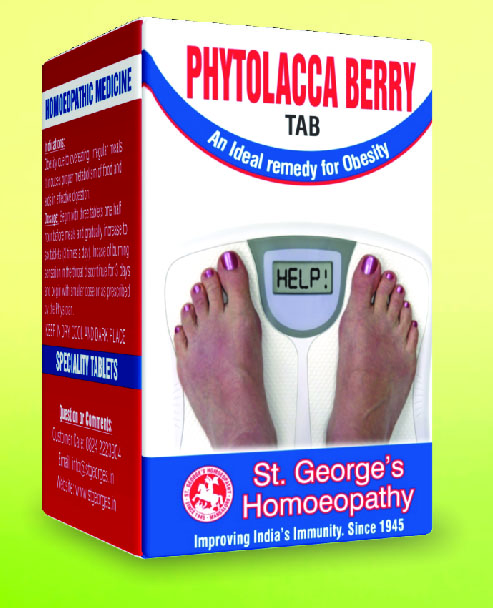 PHYTOLACCA BERRY TAB FOR OBESITY