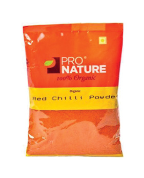Pro Nature Organic - Red Chilli Powder (Hot)