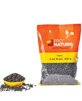 Pro Nature Organic-Urad Dal Black Whole
