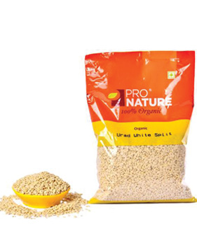 Pro Nature Organic-Urad Dal White Split