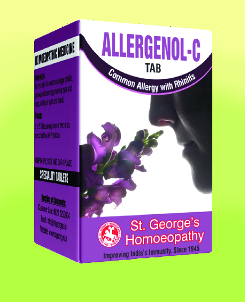 ALLERGENOL-C TAB COMMON ALLERGY